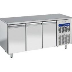 Table frigorifique 3 portes + top en granit
