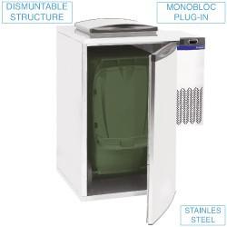 Refroidisseur de déchets