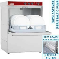 Lave vaisselle paniers 50x50 avec adoucisseur incorporé