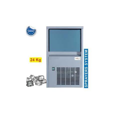 machine à glaçon pro pas cher 26 kg/24h avec systéme à palettes