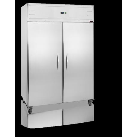 Armoire 2 portes positive 120 litres - Congelateur armoire 120 litres ...