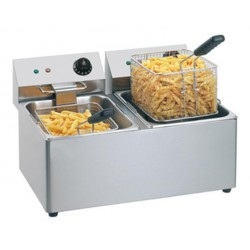 Friteuse double 2x8 Litres