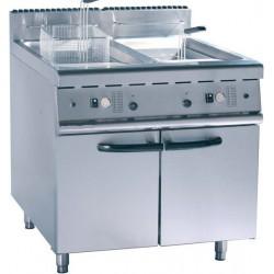 Friteuse double gaz 2 x 20 litres