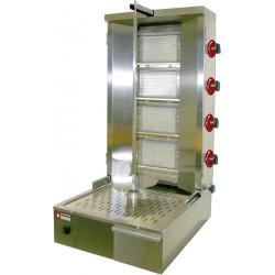 Machine à kebab gaz 55 Kg