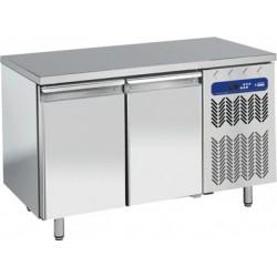Table frigorifique 2 portes avec top en granit