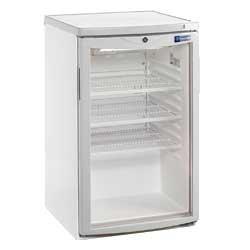 réfrigérateur porte vitrée 110 litres