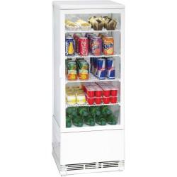 Vitrine réfrigérée à poser 98 litres