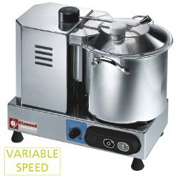 Cutter inox 6 litres