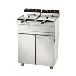 Friteuse électrique double 2 x 13 litres