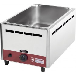 Bain-marie de table à gaz GN 1/1 - 150 mm