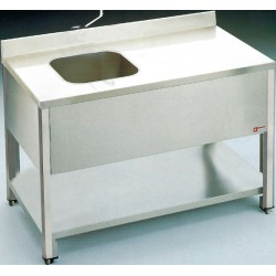 Table de chef 1400x700 mm